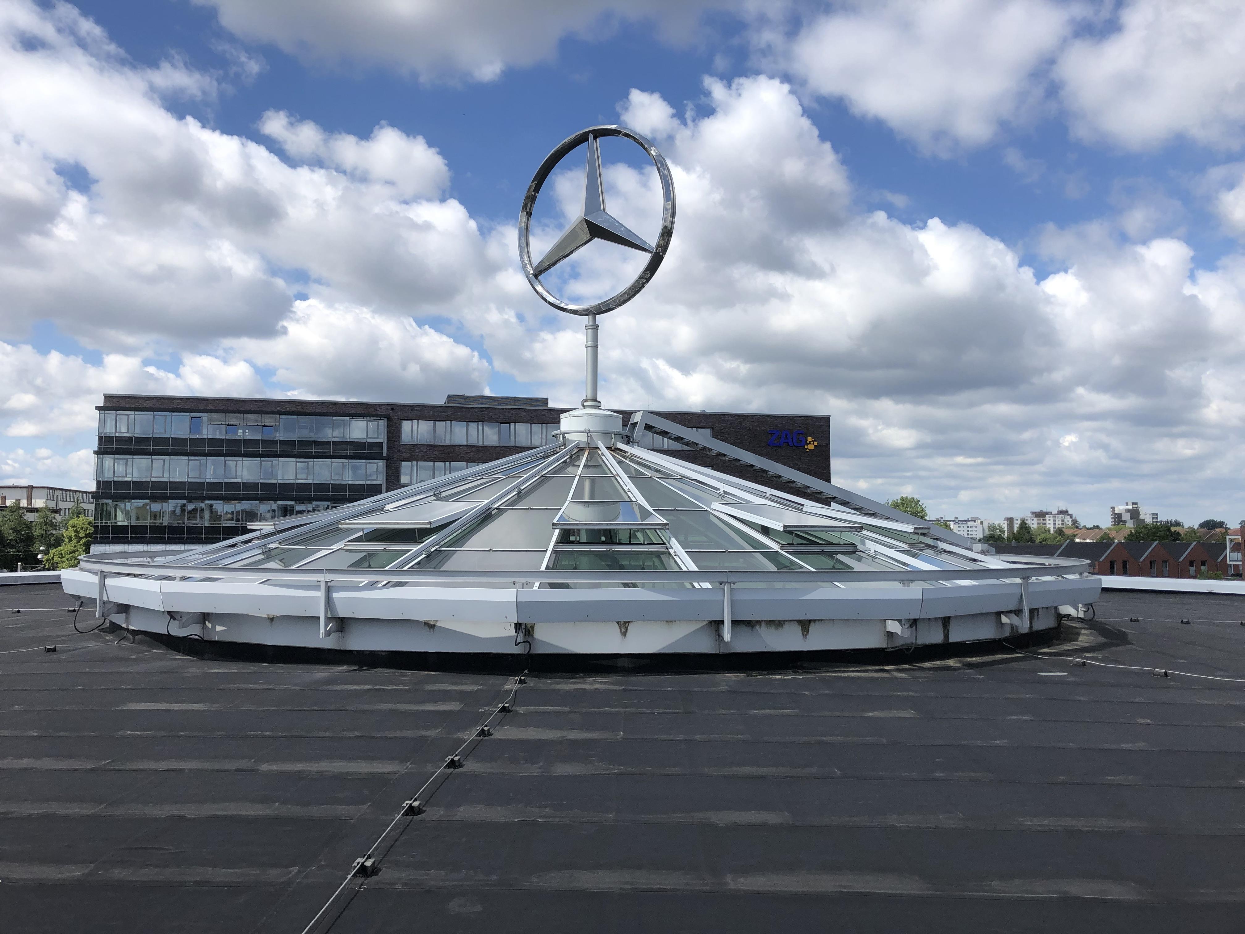 KFZ Folierung Mercedes Benz