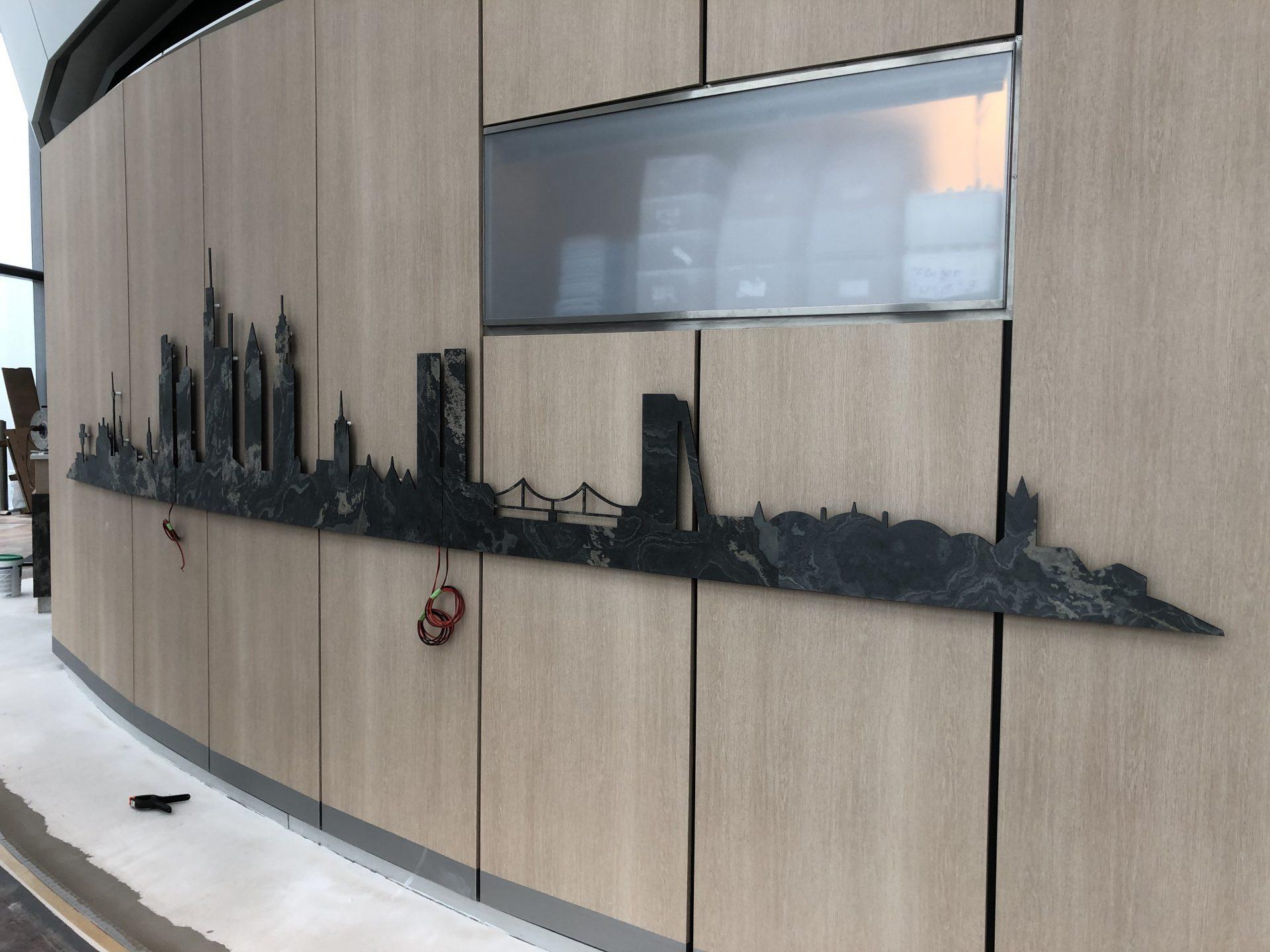 Folientechnik für Fassaden und Muster